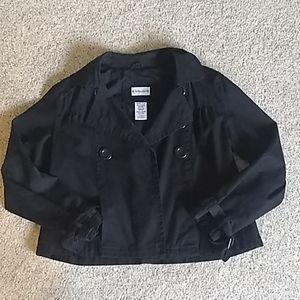 Black Short Jacket w bottons